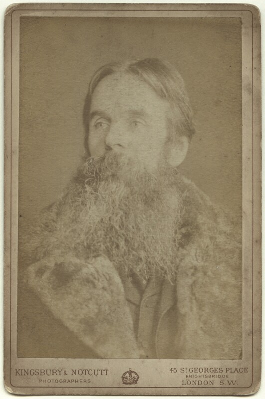 William Holman Hunt, by Kingsbury & Notcutt, late 1880s - NPG x4179 - © National Portrait Gallery, London