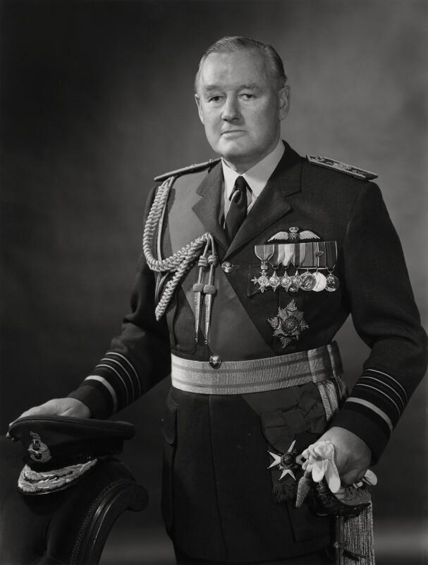 Sir John Gilbert Davis, by Godfrey Argent, 14 November 1968 - NPG x29211 - © National Portrait Gallery, London