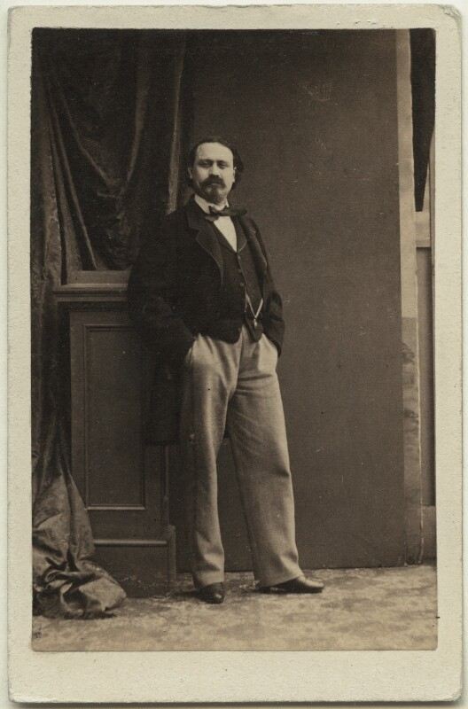 Pietro Mongini, by Camille Silvy, 1860s - NPG Ax25065 - © National Portrait Gallery, London