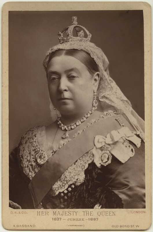 Queen Victoria, by Alexander Bassano, 1887 (1882) - NPG x8753 - © National Portrait Gallery, London