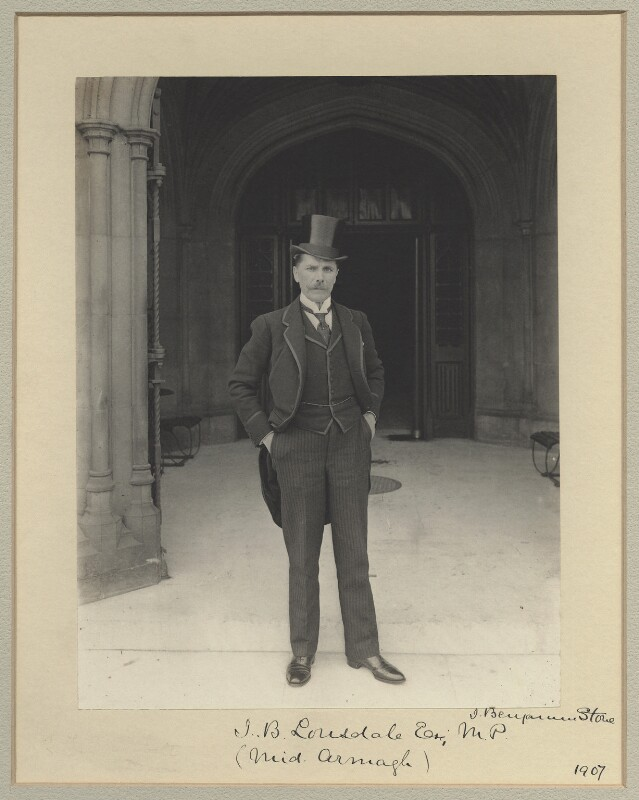 John Brownlee Lonsdale, 1st Baron Armaghdale, by Sir (John) Benjamin Stone, 1907 - NPG x31523 - © National Portrait Gallery, London