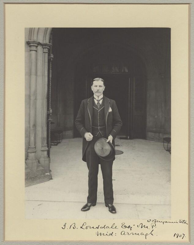 John Brownlee Lonsdale, 1st Baron Armaghdale, by Sir (John) Benjamin Stone, 1907 - NPG x31524 - © National Portrait Gallery, London