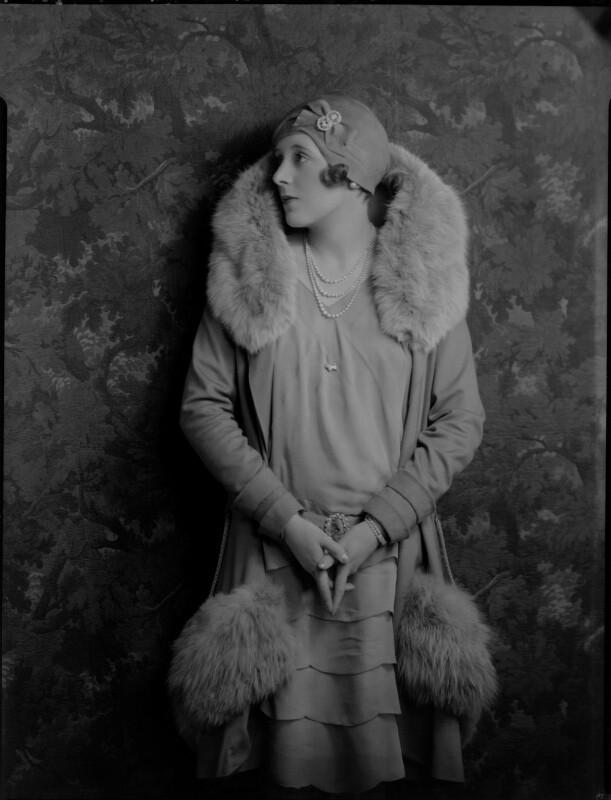 Dame Barbara Hamilton Cartland, by Lafayette, 10 December 1928 - NPG x49979 - © National Portrait Gallery, London