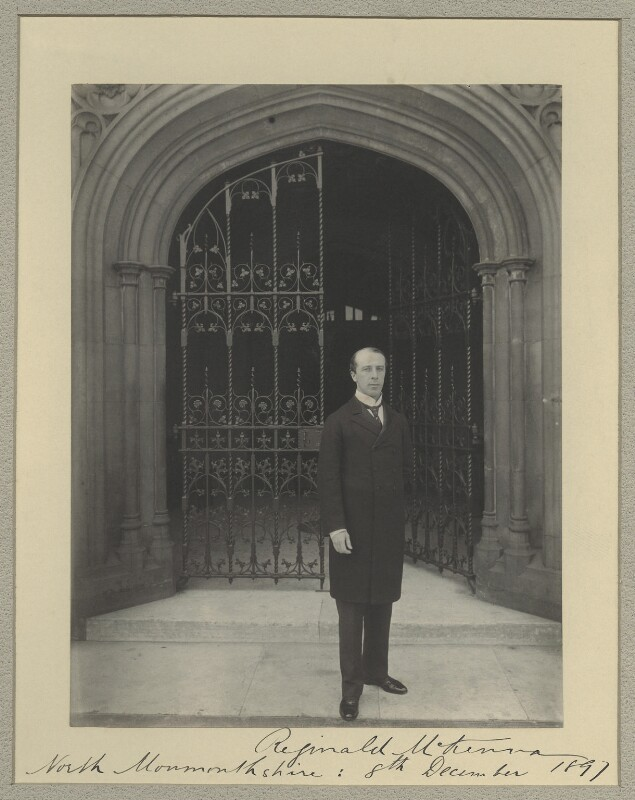 Reginald McKenna, by Benjamin Stone, 8 December 1897 - NPG x31587 - © National Portrait Gallery, London