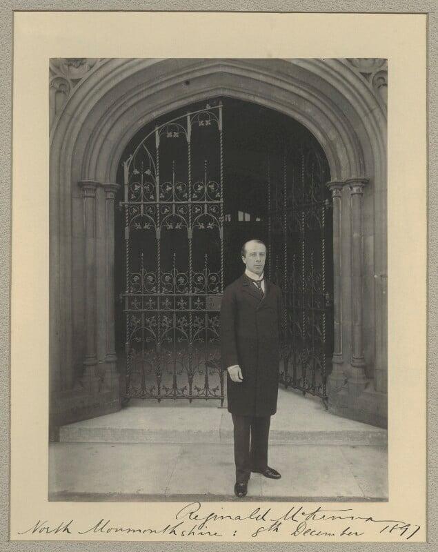 Reginald McKenna, by Sir (John) Benjamin Stone, 8 December 1897 - NPG x31587 - © National Portrait Gallery, London