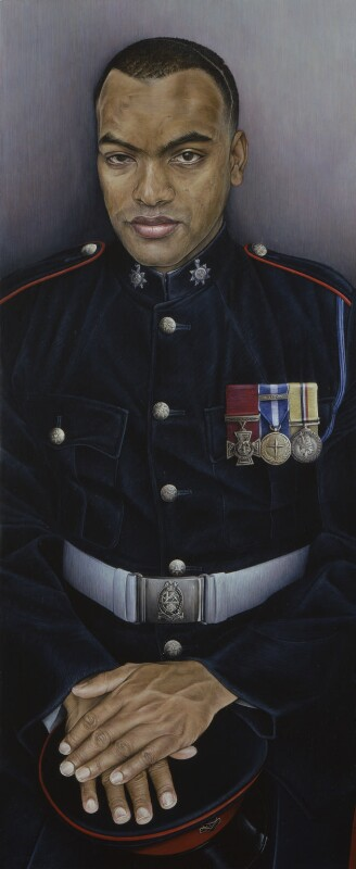 Johnson Gideon Beharry, by Emma Wesley, 2006 - NPG 6803 - © National Portrait Gallery, London