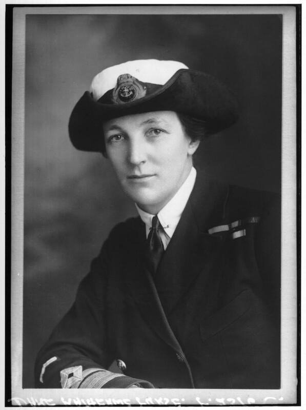 Dame Katharine Furse, by Elliott & Fry, 1919 - NPG x92101 - © National Portrait Gallery, London