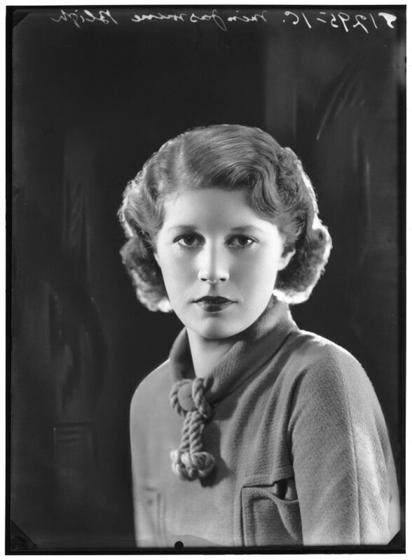 Jasmine Bligh, by Bassano Ltd, 1936 - NPG x88151 - © National Portrait Gallery, London