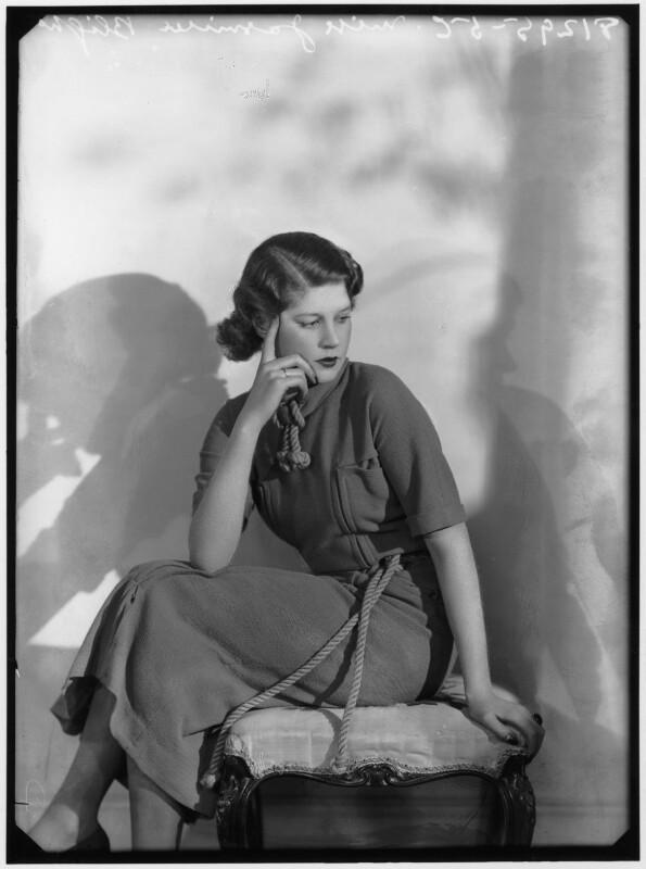 Jasmine Bligh, by Bassano Ltd, 1936 - NPG x88155 - © National Portrait Gallery, London
