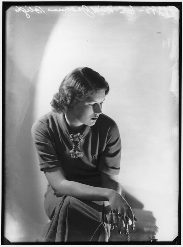 Jasmine Bligh, by Bassano Ltd, 1936 - NPG x88156 - © National Portrait Gallery, London