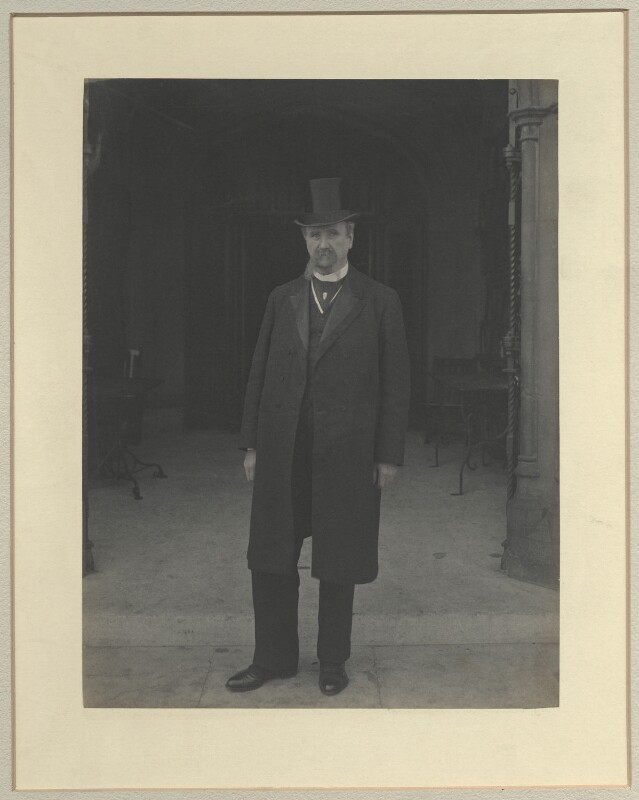 Joseph Nolan, by Benjamin Stone, March 1911 - NPG x32579 - © National Portrait Gallery, London