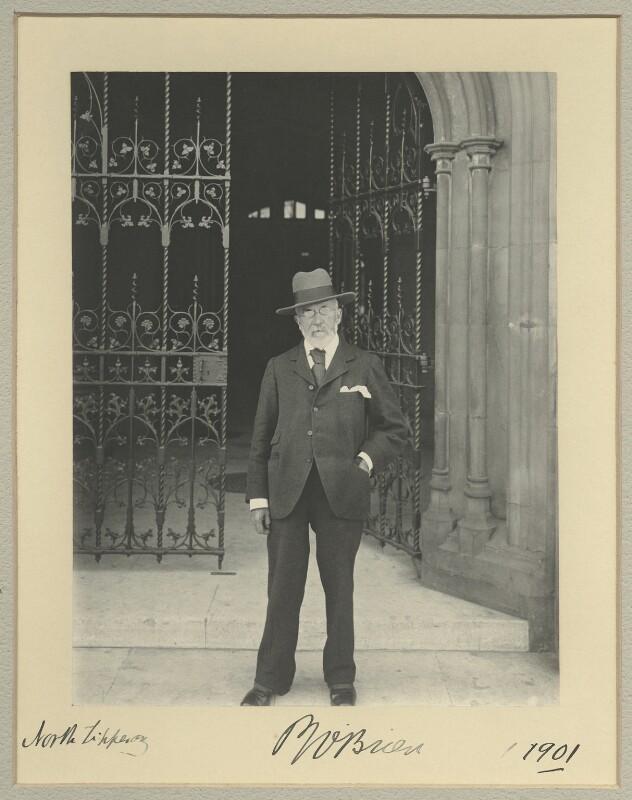 Patrick Joseph O'Brien, by Benjamin Stone, 1901 - NPG x33721 - © National Portrait Gallery, London