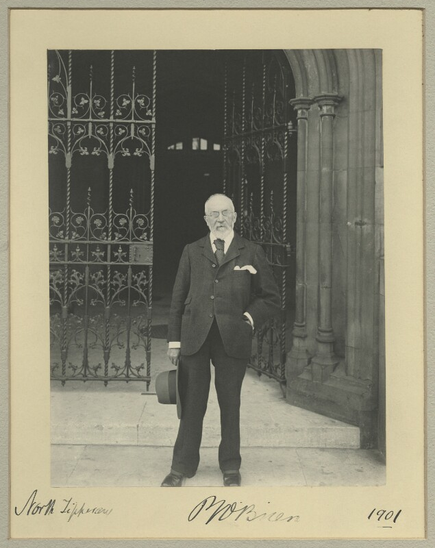 Patrick Joseph O'Brien, by Benjamin Stone, 1901 - NPG x33722 - © National Portrait Gallery, London