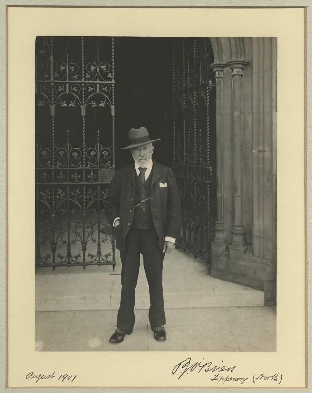 Patrick Joseph O'Brien, by Benjamin Stone, August 1901 - NPG x33724 - © National Portrait Gallery, London