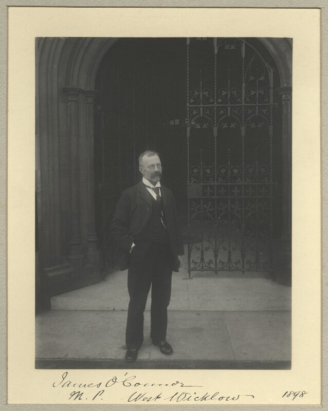James O'Connor, by Benjamin Stone, 1898 - NPG x33733 - © National Portrait Gallery, London