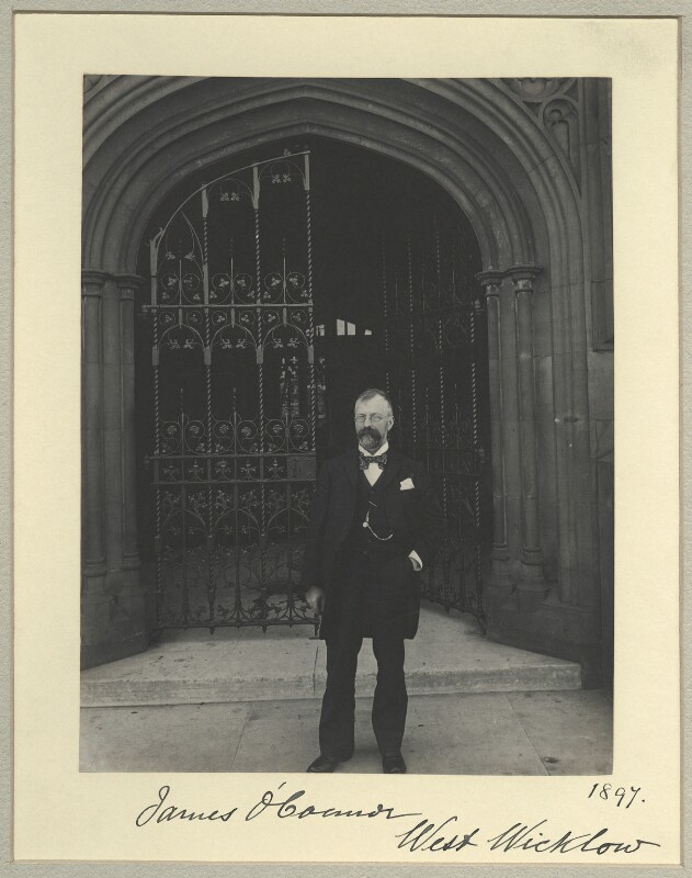James O'Connor, by Benjamin Stone, 1897 - NPG x33734 - © National Portrait Gallery, London
