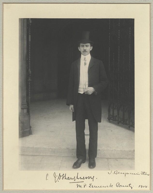 Patrick Joseph O'Shaughnessy, by Sir (John) Benjamin Stone, 1904 - NPG x33740 - © National Portrait Gallery, London