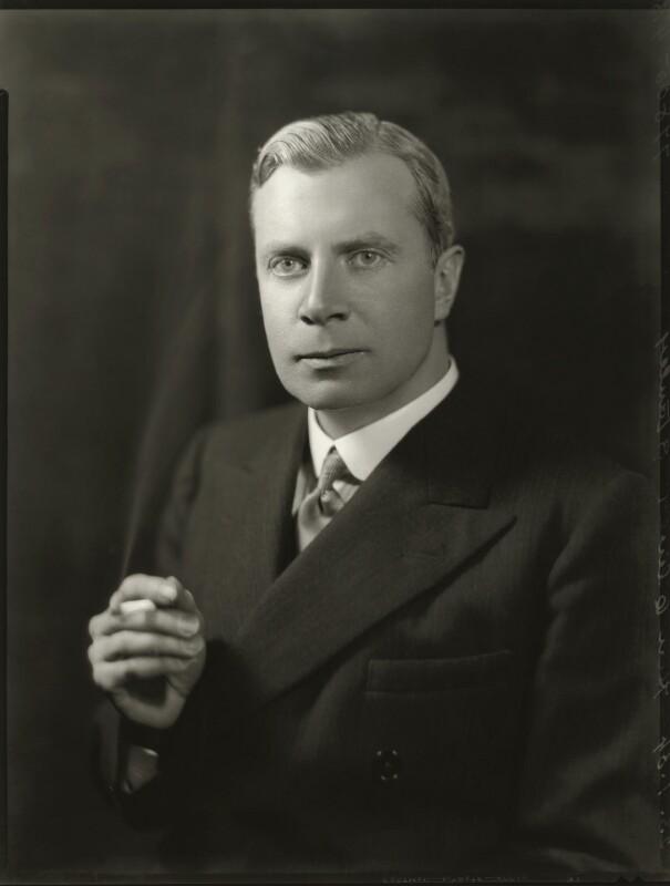 Oliver Frederick George Stanley, by Bassano Ltd, 23 January 1934 - NPG x150994 - © National Portrait Gallery, London