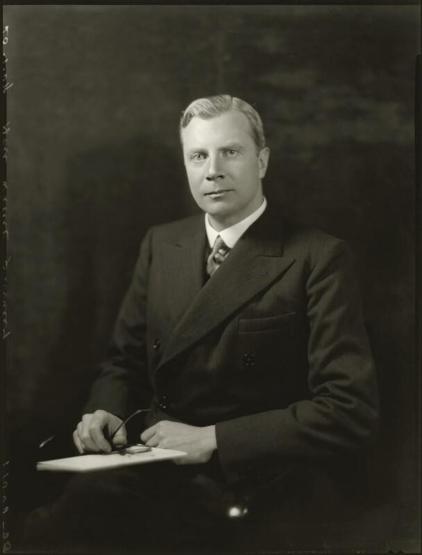 Oliver Frederick George Stanley, by Bassano Ltd, 23 January 1934 - NPG x150995 - © National Portrait Gallery, London