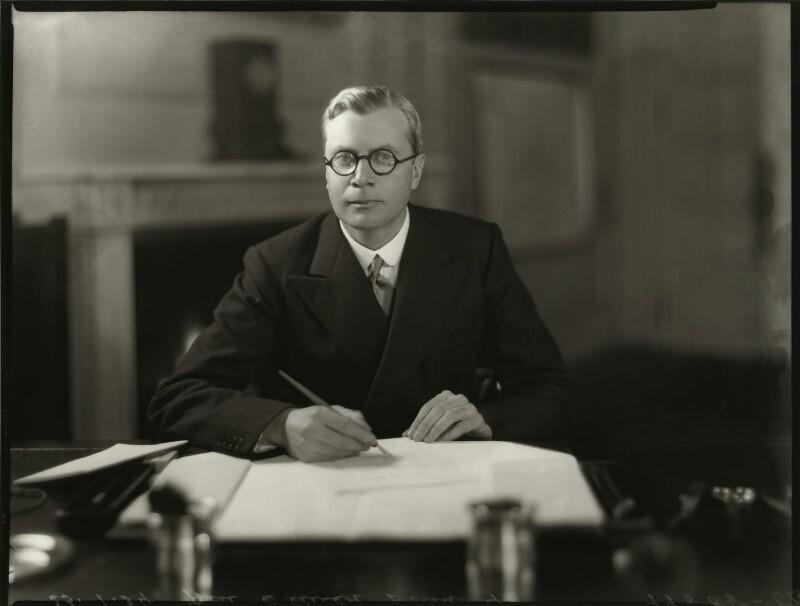 Oliver Frederick George Stanley, by Bassano Ltd, 23 January 1934 - NPG x150996 - © National Portrait Gallery, London