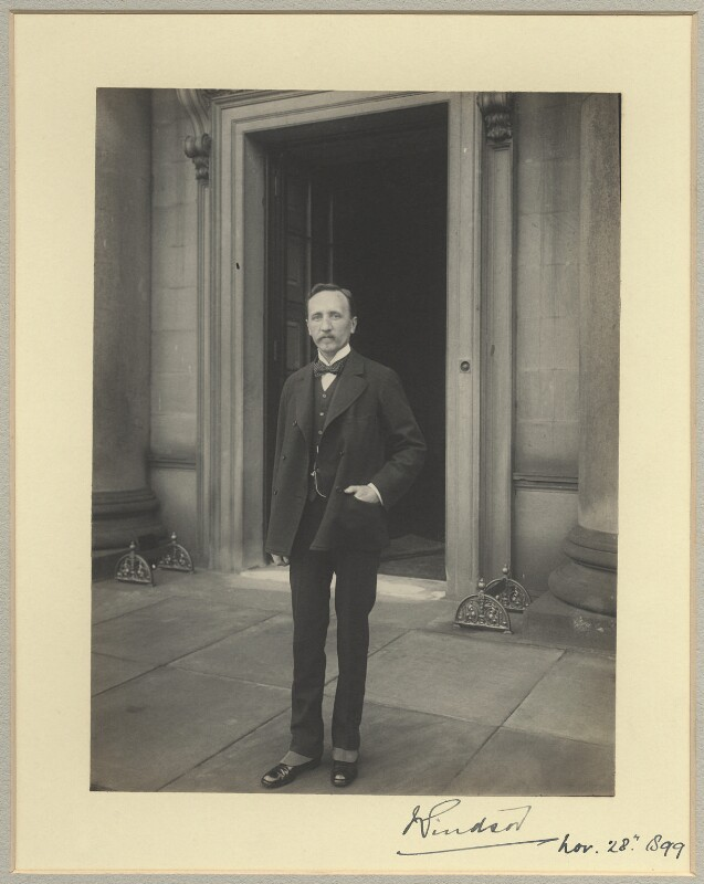 Robert George Windsor-Clive, 1st Earl of Plymouth, by Benjamin Stone, 28 November 1899 - NPG x35556 - © National Portrait Gallery, London