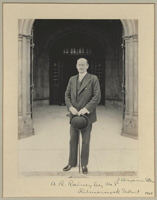 Adam Rolland Rainy, by Benjamin Stone, 1908 - NPG x35002 - © National Portrait Gallery, London