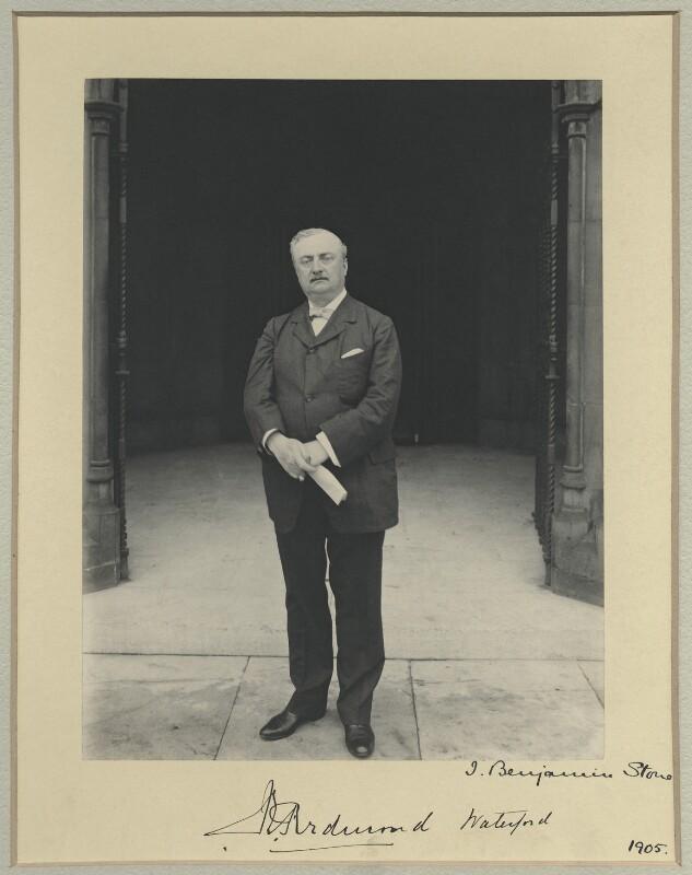 John Edward Redmond, by Benjamin Stone, 1905 - NPG x35015 - © National Portrait Gallery, London