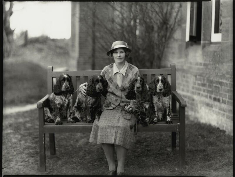 Mrs Jamieson Higgins, by Bassano Ltd, 10 April 1934 - NPG x151059 - © National Portrait Gallery, London