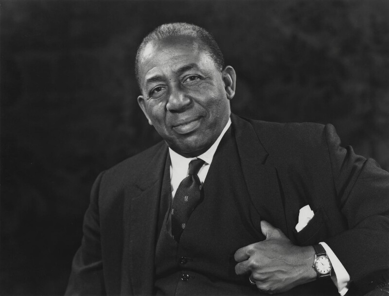 Learie Constantine, by Godfrey Argent, 1 November 1967 - NPG x21932 - © National Portrait Gallery, London