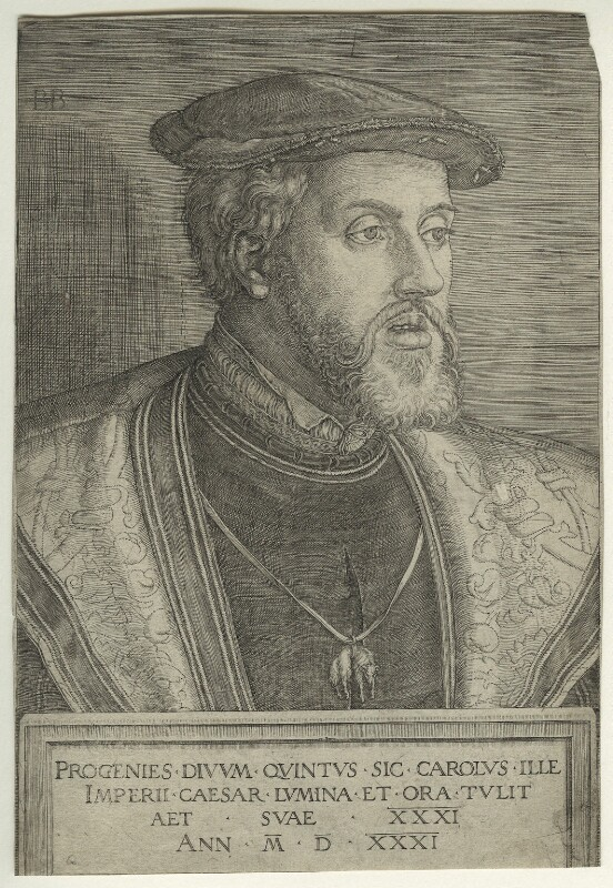 Charles V, Holy Roman Emperor, by Barthel Beham, 1531 - NPG D23478 - © National Portrait Gallery, London