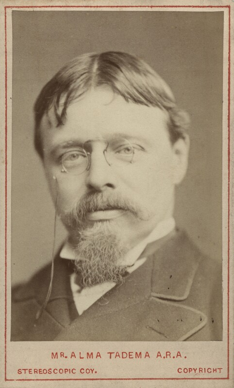 Sir Lawrence Alma-Tadema, by London Stereoscopic & Photographic Company, circa 1877 - NPG x27575 - © National Portrait Gallery, London
