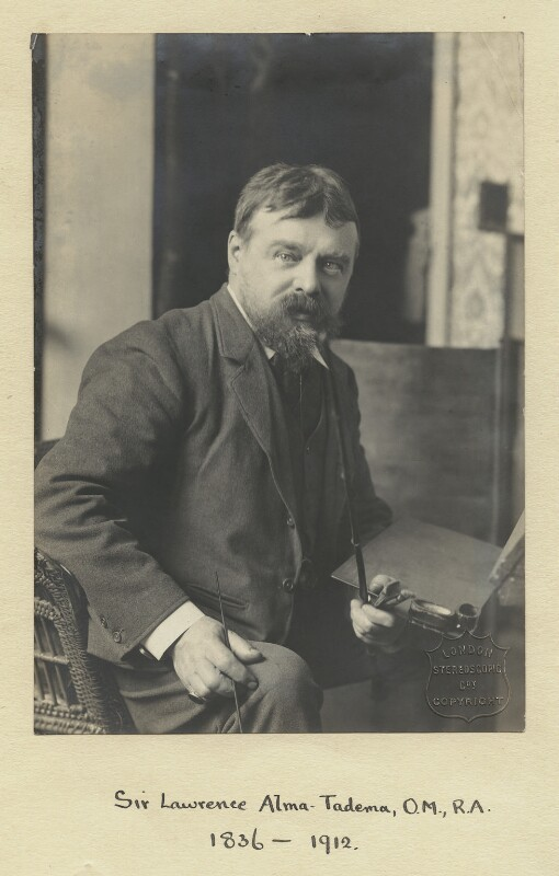 Sir Lawrence Alma-Tadema, by London Stereoscopic & Photographic Company, circa 1877 - NPG x85 - © National Portrait Gallery, London