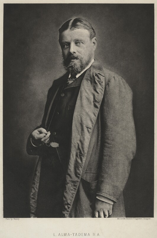 Sir Lawrence Alma-Tadema, by Maclure, Macdonald & Co, after  Walery, (1888 or before) - NPG x46 - © National Portrait Gallery, London