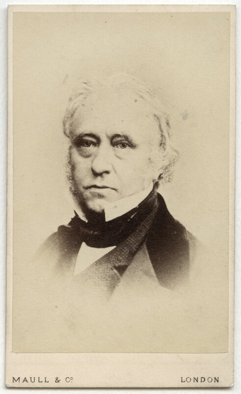 Thomas Babington Macaulay, Baron Macaulay, by Maull & Co, after  Maull & Polyblank, (April 1856) - NPG x76397 - © National Portrait Gallery, London