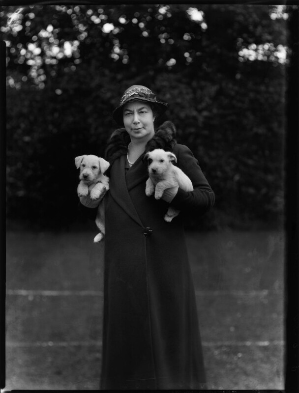 Hon. Nellie Ionides (née Samuel), by Bassano Ltd, 8 June 1934 - NPG x151134 - © National Portrait Gallery, London