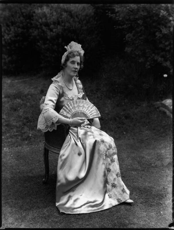 Lady Lilian Maud Grenfell (née Spencer-Churchill), by Bassano Ltd, 8 June 1934 - NPG x151137 - © National Portrait Gallery, London