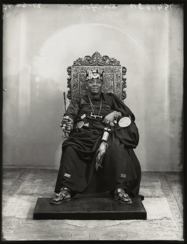 Nana Sir Ofori Atta, by Bassano Ltd, 22 June 1934 - NPG x151140 - © National Portrait Gallery, London