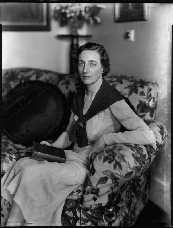 Lucy Marguerite (née Montgomery), Lady Thomas, by Bassano Ltd, 29 June 1934 - NPG x151141 - © National Portrait Gallery, London