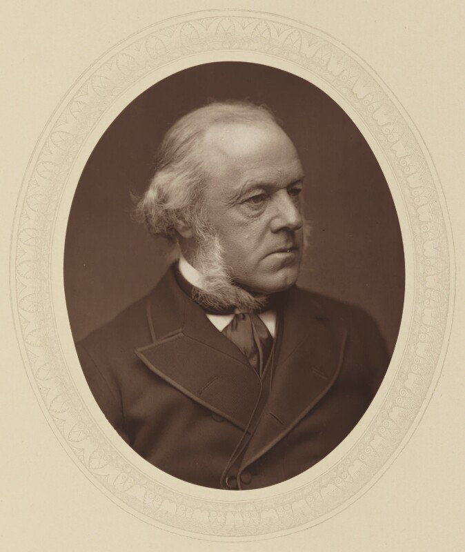 Henry Austin Bruce, 1st Baron Aberdare, by Lock & Whitfield, published by  Sampson Low, Marston, Searle and Rivington, published 1882 - NPG Ax17690 - © National Portrait Gallery, London