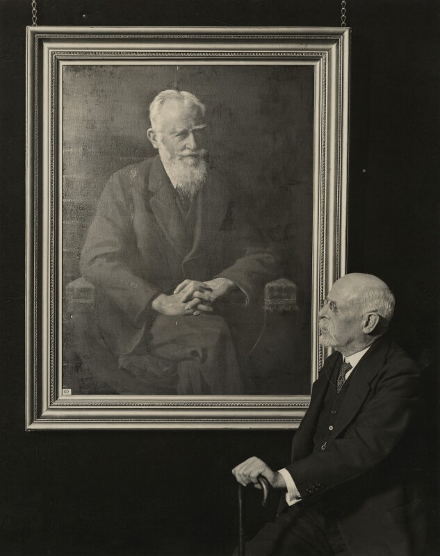 John Collier, by London News Agency, 19 February 1931 - NPG x12401 - © National Portrait Gallery, London