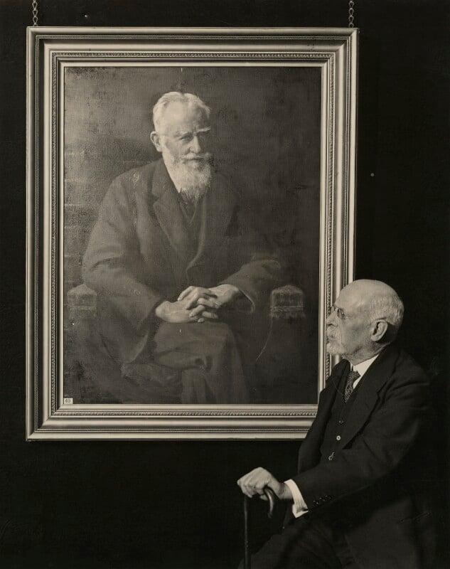 John Collier, by London News Agency, 19 February 1931 - NPG x12401 - © National Portrait Gallery, London