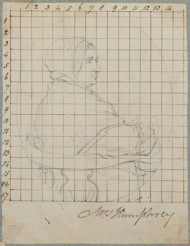 Elizabeth Humphry, by Henry Bone, after  Ozias Humphry, circa 1805 - NPG D17754 - © National Portrait Gallery, London