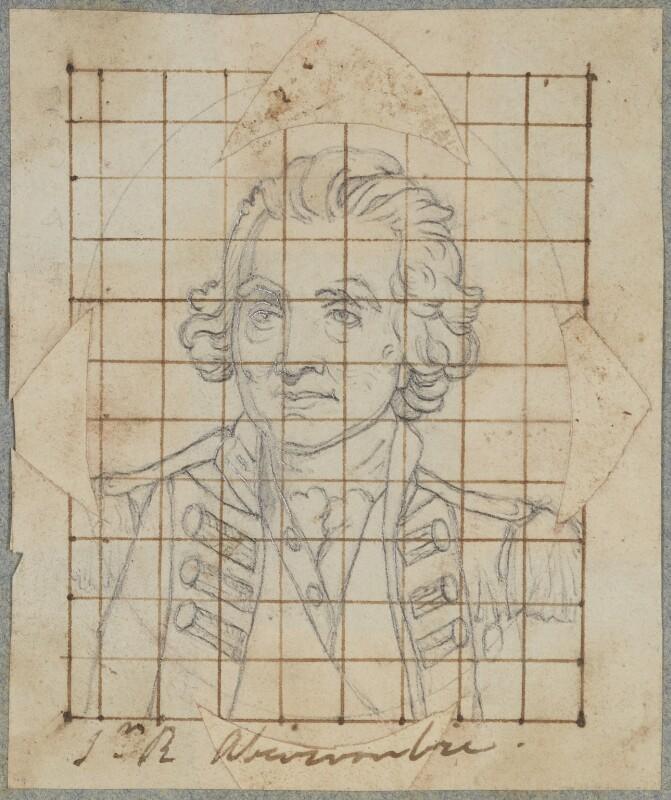 Sir Ralph Abercromby, by Henry Bone, after  John Hoppner, (1798) - NPG D17763 - © National Portrait Gallery, London