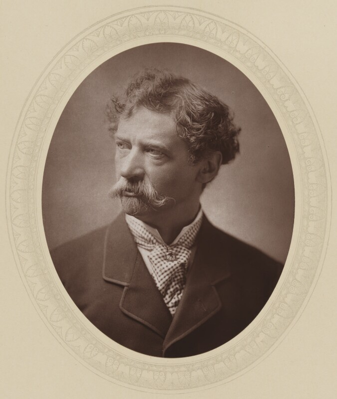 Sir Joseph Edgar Boehm, 1st Bt, by John Jabez Edwin Mayall, published by  Sampson Low, Marston, Searle and Rivington, published 1883 - NPG Ax17721 - © National Portrait Gallery, London