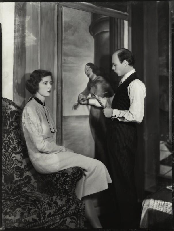 Angela Mary Churchill (née Culme Seymour); John George Spencer Churchill, by Bassano Ltd, 17 October 1934 - NPG x151200 - © National Portrait Gallery, London