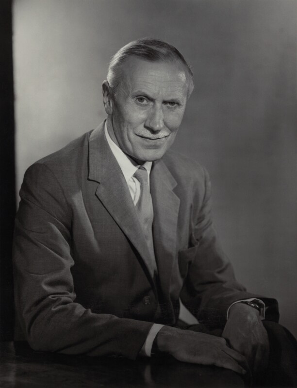 Sir (Frederick Herbert) Stanley Brown, by Walter Bird, 3 August 1967 - NPG x166158 - © National Portrait Gallery, London
