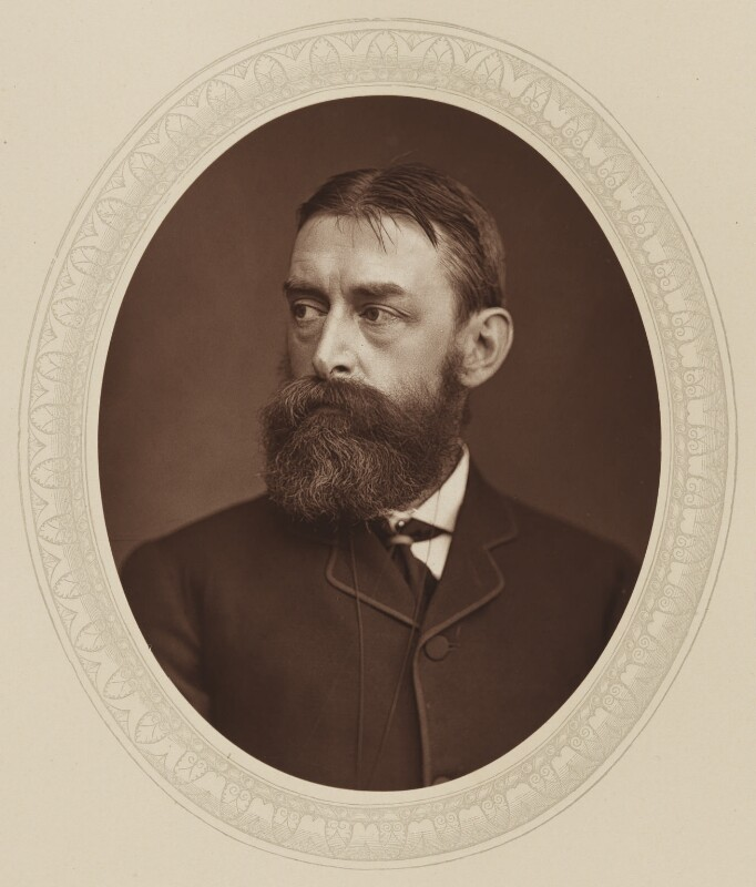 Sir Edward John Poynter, 1st Bt, by Lock & Whitfield, published by  Sampson Low, Marston, Searle and Rivington, published 1880 - NPG Ax17601 - © National Portrait Gallery, London