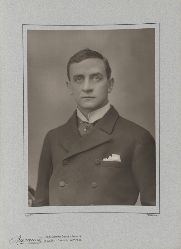 Sir John Hare, by Herbert Rose Barraud, published by  Eglington & Co, published 1890 - NPG Ax5488 - © National Portrait Gallery, London