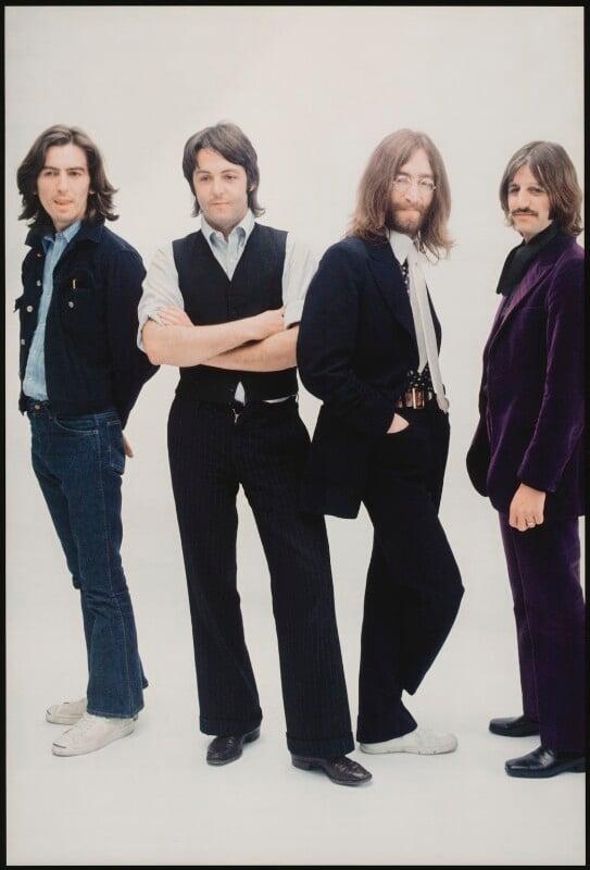 The Beatles (George Harrison; Ringo Starr; Paul McCartney; John Lennon), by Linda McCartney, 1969 - NPG x128727 - © Paul McCartney