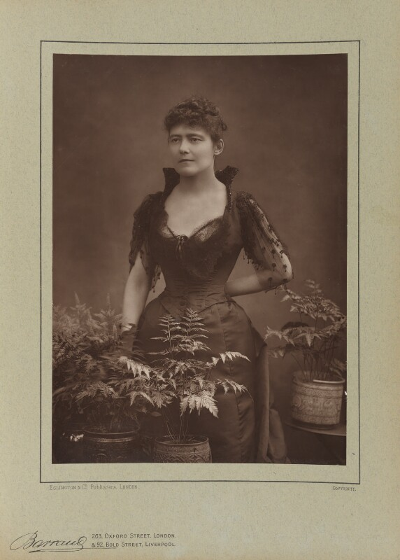Louise Jane Jopling (née Goode, later Rowe), by Herbert Rose Barraud, published by  Eglington & Co, published 1890 - NPG Ax5495 - © National Portrait Gallery, London